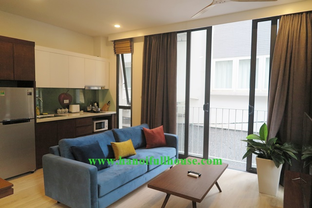 New apartment to lease in Kim Ma street, Ba Dinh, Hanoi with 2 bedroom