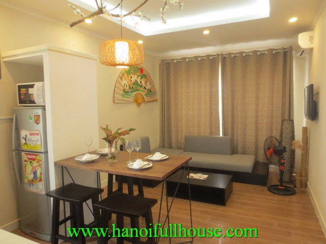 Pefect serviced apartment with 1 bedroom for rent in Badinh district, Hanoi