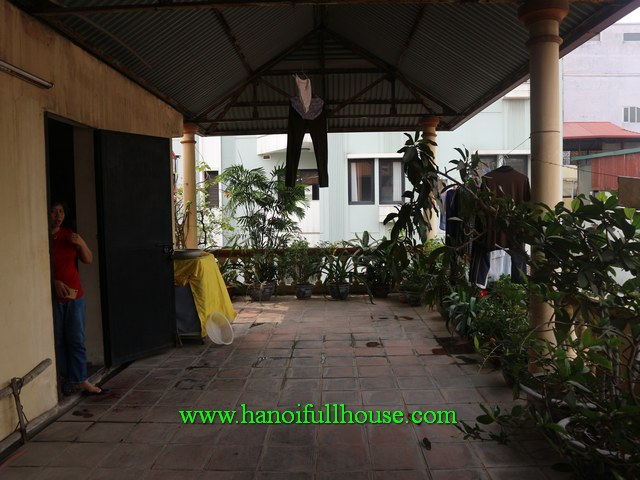 House in the Center with 4 bright bedrooms, balconies for rent
