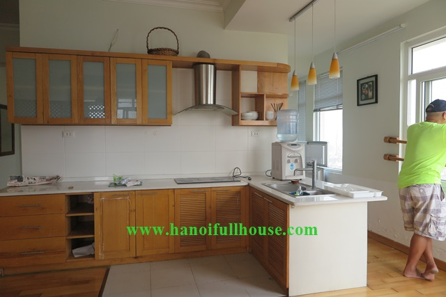 Beautiful 1br apartment to lease in Ba Dinh, Hanoi, very modern