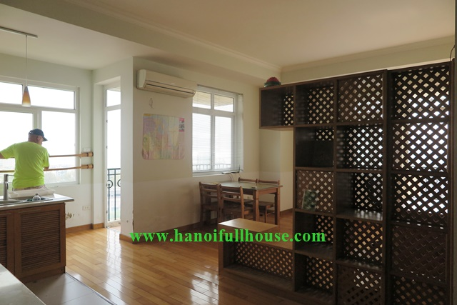 Spacious apartment to lease in Ba Dinh, Hanoi, beautiful view