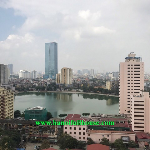 Available apartment in D2 Giang Vo building for rent, two bedroom fully furnished apartment