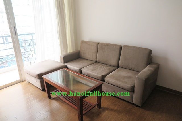 Modern and bright apartment to lease in Tay Ho, Hanoi with 2br