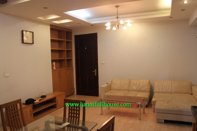 Ba Dinh Two bedroom apartment on high-rise for rent, inexpensive price: 600$/month