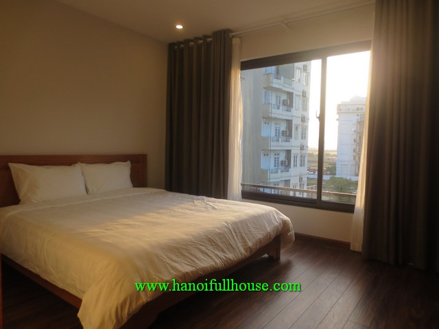 A brandnew, furnished one bedroom serviced apartment on Tran Duy Hung, Cau Giay for rent