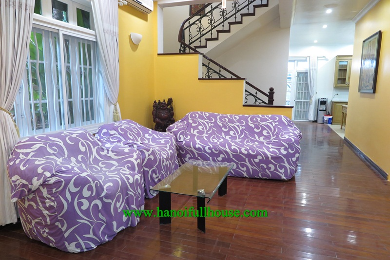 A gorgeous and luxury villa in Ciputra with 5 bedrooms for rent.