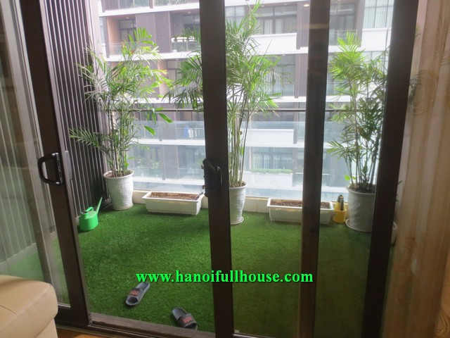 183 sqm, 4 bedroom, newly furnished apartment in Dolphin Plaza Bld Tran Binh street, Tu Liem dist