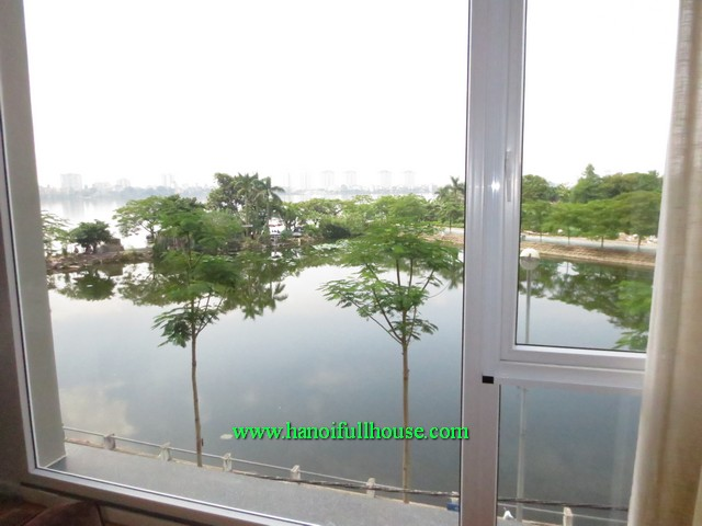 2 bedroom WestLake surface serviced apartment for rent in Dang Thai Mai street, Tay Ho