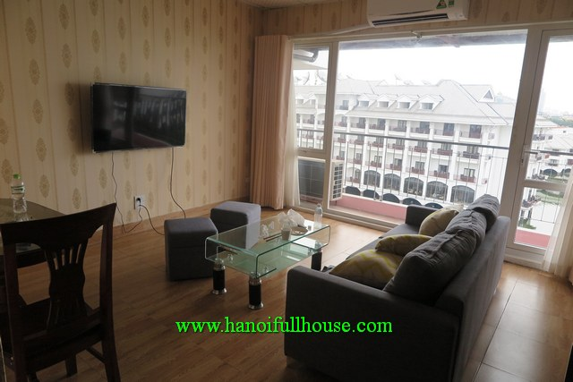 Lake view 1BR apartment near Sheraton hotel, Tay Ho dist for rent