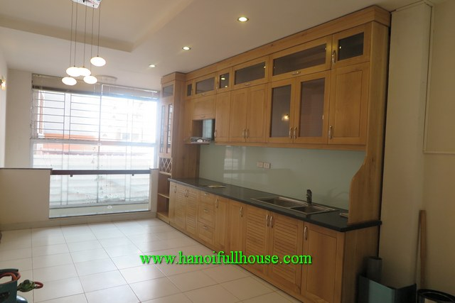 Tay Ho house for rent. 4 bedrooms, partly furnished, lights, terrace, a yard