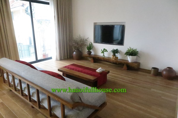 A brand new one bedroom serviced apartment for rent on Xuan Dieu