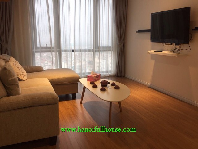 Mipec Long Bien, fully furnished, reasonable price 2 bedroom apartment for rent, $650/month