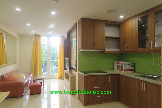 New serviced apartment in Giang Vo, Dong Da dist for rent