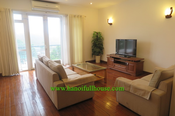 Large and beautiful 2 bedroom serviced apartment for leasing on Dang Thai Mai