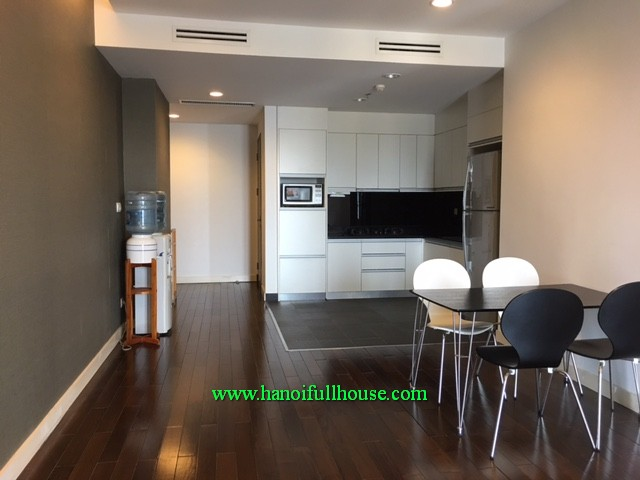 Swimming pool apartment with three bedroom in Lancaster building-20 Nui Truc for lease