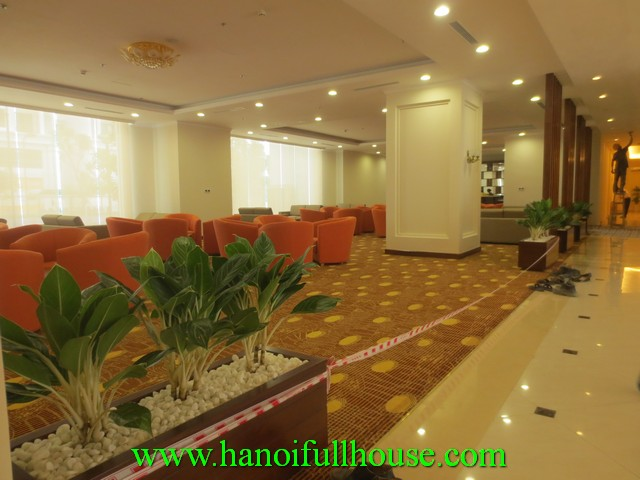 furnished apartment in times city Ha Noi for rent. 2 bedrooms, 2 bathrooms, newly furnished