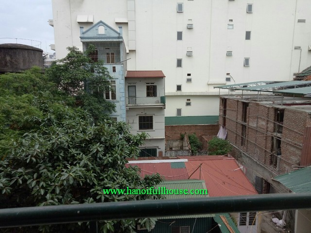 Ha Noi apartment with 2 bedroom for rent in Hai Ba Trung street, Hoan Kiem district