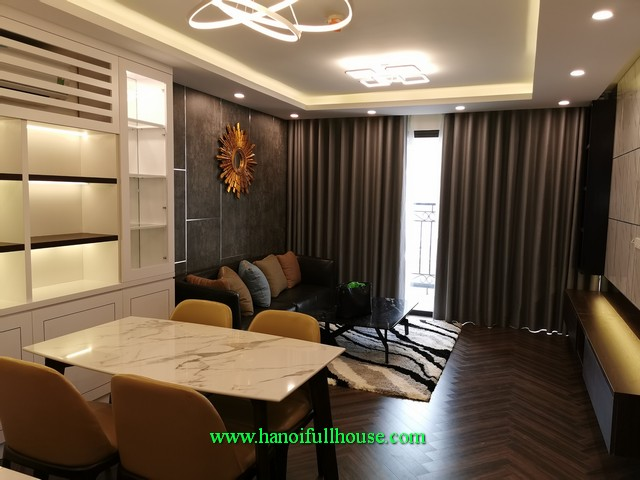 Brand new three bedroom condo in 59 Xuan Dieu street, Quang An Ward, Tay Ho dist