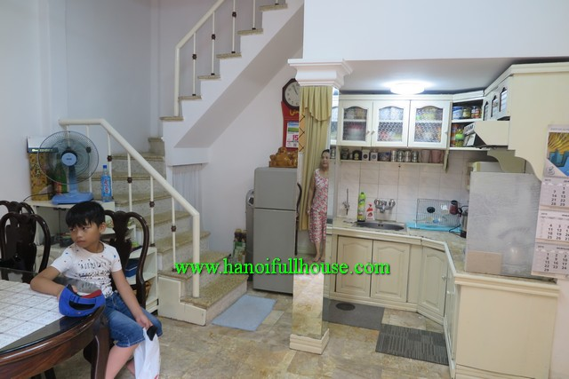 A bright quiet house located in beautiful lane of Hoan Kiem dist, Ha Noi to rent