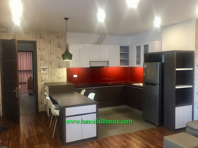 Modernly furnished 1 bedroom apartment at the building has a lift, car parking, downtown