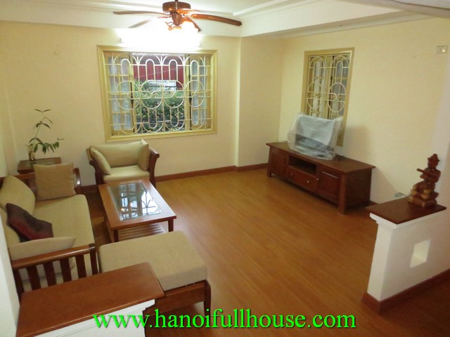 2 bedroom fully furnished house for rent in Hoan Kiem dist, Hanoi
