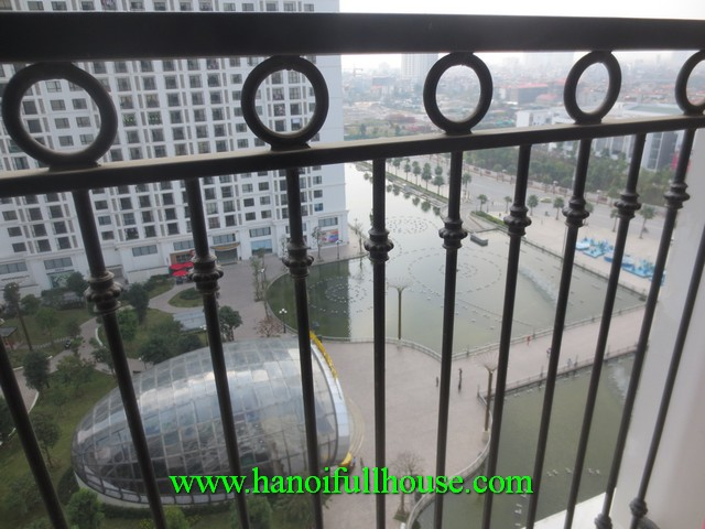 Furnished apartment with 2 bedroom in Times City Ha Noi for rent