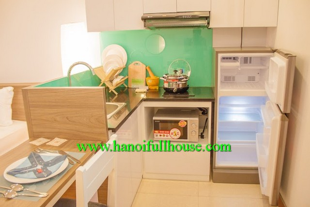 Luxury studio serviced apartment rentals in Cau Giay dist, HN