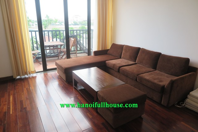 Very luxury serviced apartment in Xom Chua, Dang Thai Mai rental with lake view, bright
