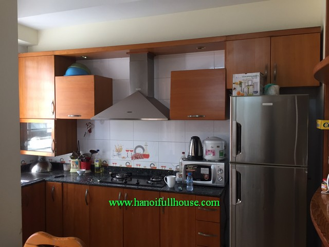 Two bedroom apartment in Dong Da dist,nearby Hoang Cau lake with cheap price