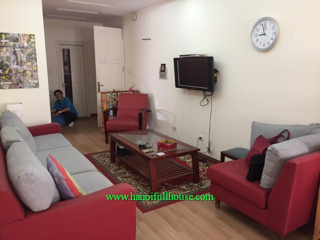 Modern apartment has reasonable price, two bedroom, furnished and safe building