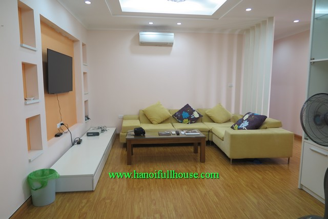 3-bedroom new apartment rentals with cheap price in Hoang Quoc Viet, Cau Giay