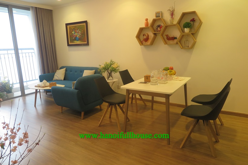 For rent 2 bedroom apartment with full furnished in Park 2, Times city urban