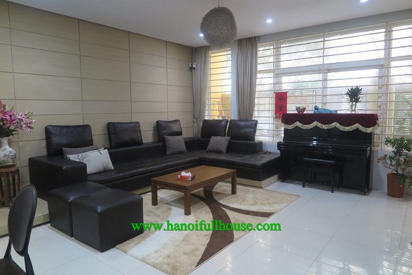 House with big terrace , 4 bedrooms, full furnished in Xuan Thuy, Cau Giay dist for lease