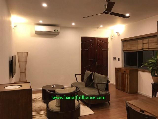 Good flat in Hanoi center to rent. 1-bedroom serviced apartment with Japanese style