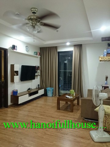 Rental cheap apartment in Times City urban, 2 bedroom, fully furnished, Block T18