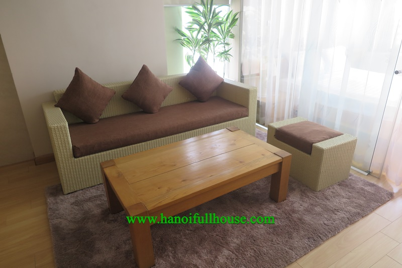 brand new service apartment with bright room , big terrace at Dang Thai Mai street