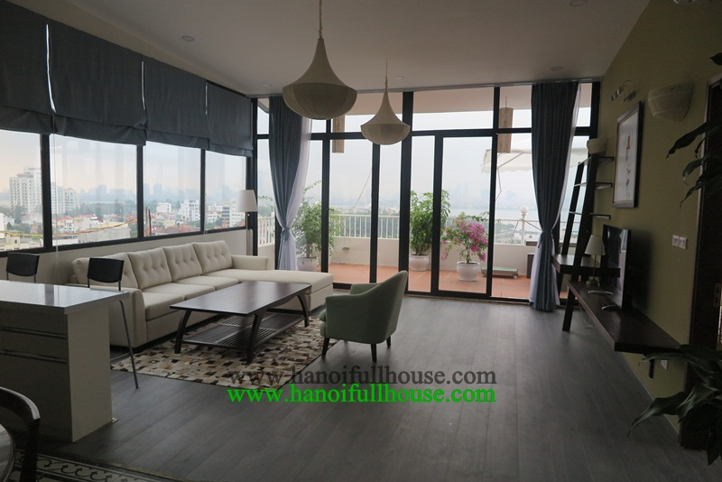 Luxury apartment, 3 bedrooms, great services for rent now