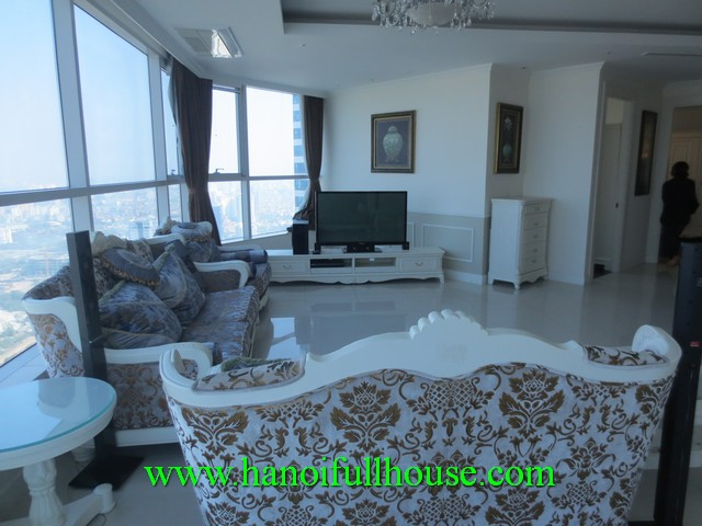 Luxury apartment in Keangnam Landmark Hanoi for rent