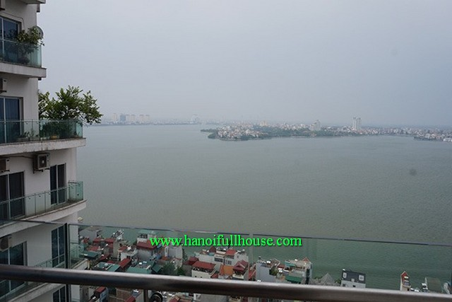 Simple apartment but its nice at Golden West Lake Tower- Hanoi for lease