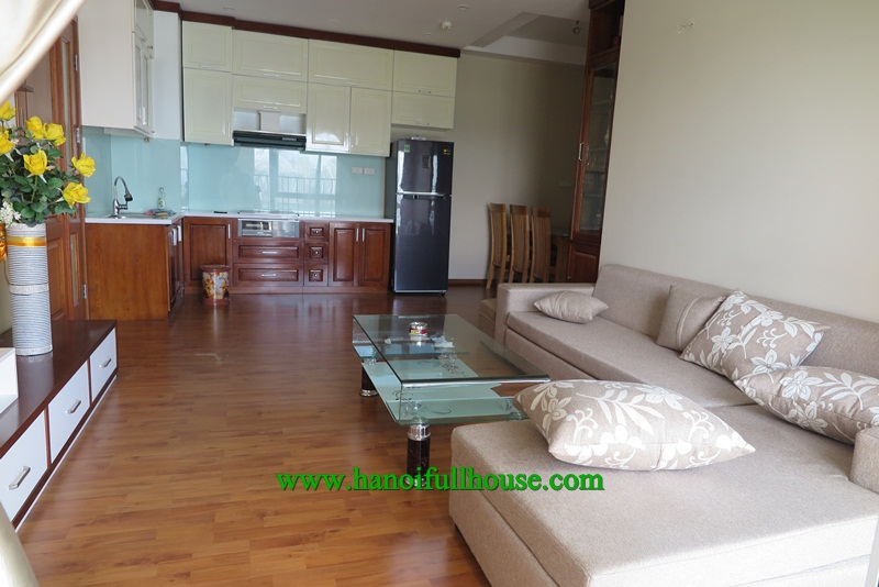 Nice apartment in Dong Do building with three bedrooms for rent