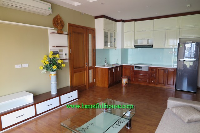 3 Brs apartment nearby Somerset Hanoi on Hoang Quoc Viet street for lease