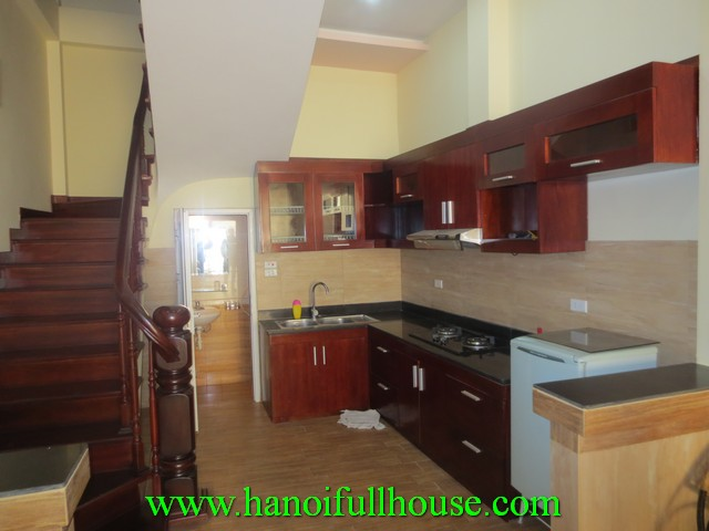 New house with 3 bedrooms for rent in Truc Bach lake, Ba Dinh district