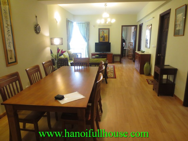 Beautiful cheap apartment with 3 bedrooms for rent in Ciputra urban, Tay Ho dist