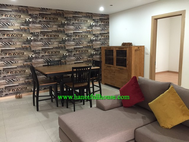 New modern apartment in Golden Palace Me Tri for rent