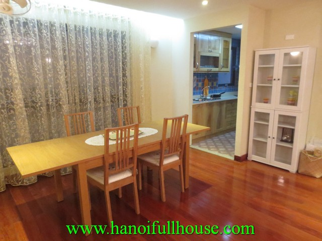 Luxurious serviced apartment with 2 beds for rent in Hoan Kiem district, Ha Noi