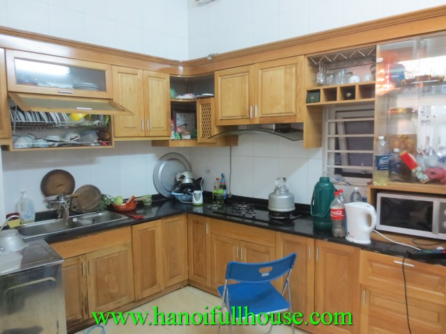 Cheap house with 3 bedrooms for rent in Van Bao street, Ba Dinh district, Ha Noi, Viet Nam