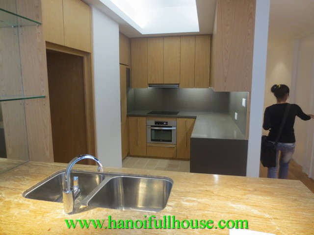 Beautiful apartment in Indochina Plaza Ha Noi rental. 3 bedrooms, 3 bathrooms, balconies
