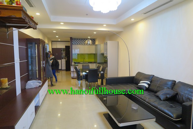 3 bedroom fully furnished/equipped apartment in Royal City in Thanh Xuan Dist, HN