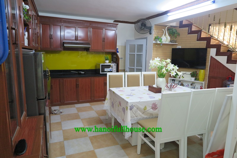 Cheap and modern house with 3 bedrooms in Tay Ho for rent
