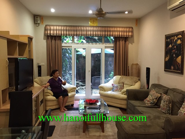 A lovely house with 3 bedroom rental in Hai Ba Trung district, Ha Noi